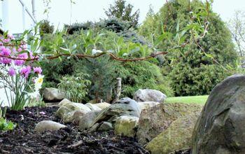 Easy DIY Mulch Garden That Will Last for Years!