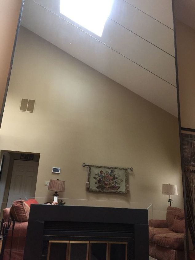 q would love suggestions for remodeling fireplace mirror wall