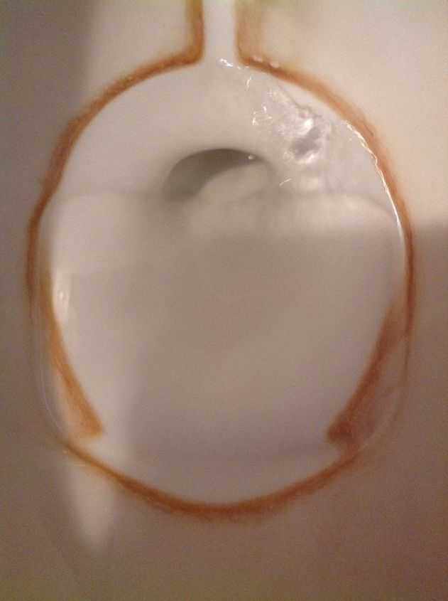 q nothing has cleaned these hard water rust stains help