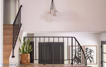 how to modernize stair railing