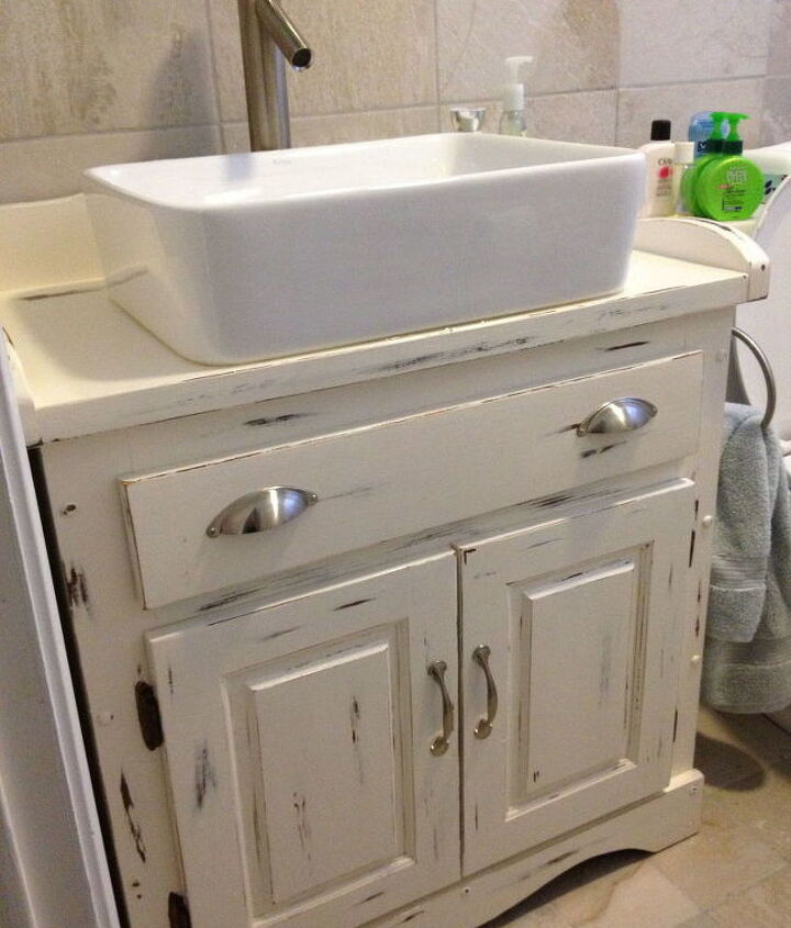 s jazz up your bathroom with these 30 stylish additions, Remodel The Bathroom Vanity