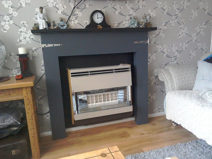 q how can i make this fire surround look japanese