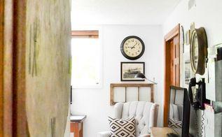 restore board becomes faux farmhouse clock