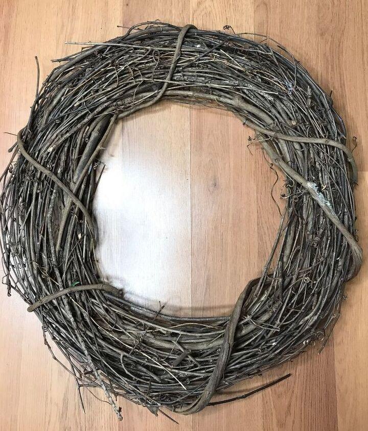 Vine Branch Wreath from Craft store