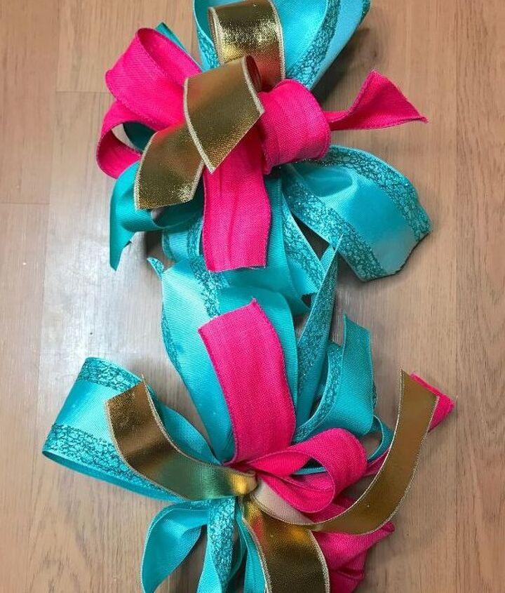 Make 2 bows