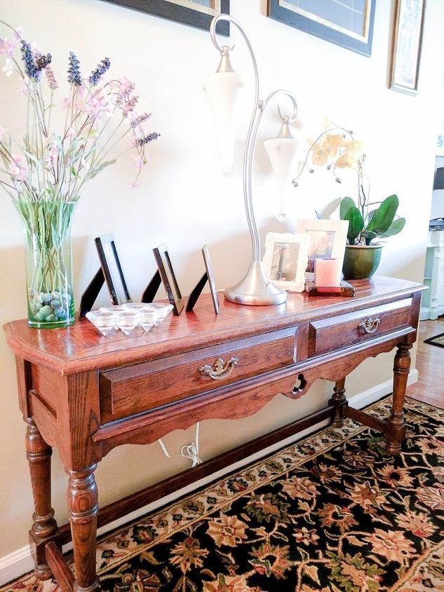 an old table goes from frightful to delightful with fusion mineral pai