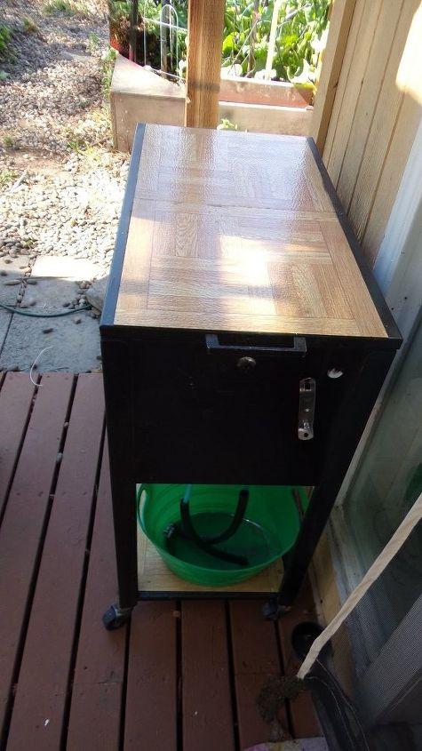 rolling file cabinet flip