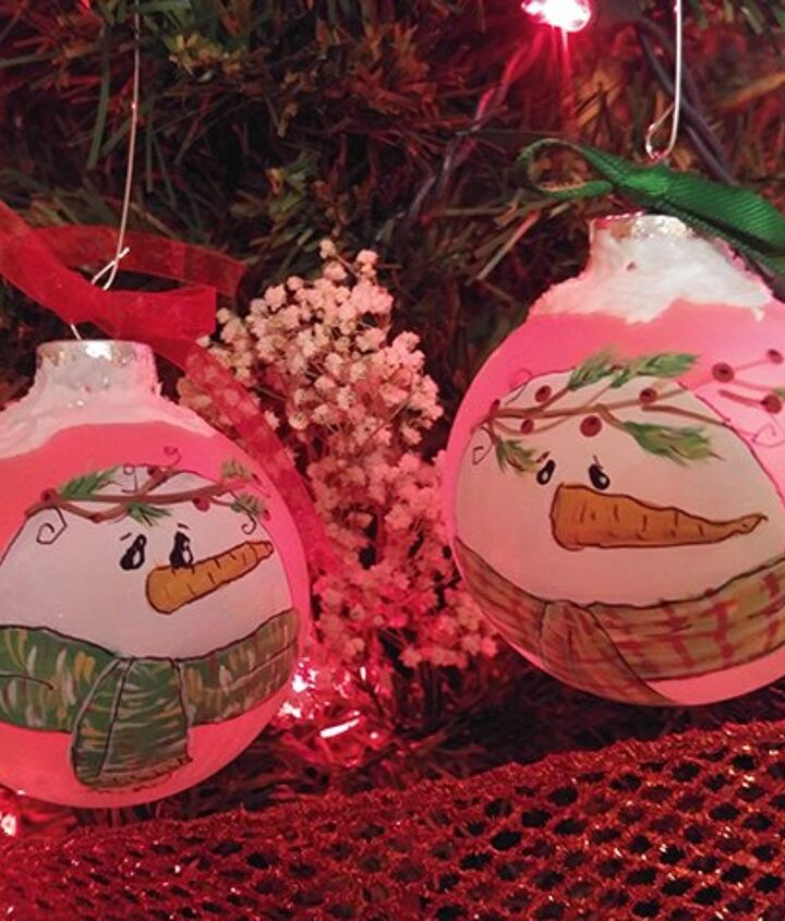 s 30 clever ideas to reuse muffin pans and cupcake liners, Paint Beautiful Ornaments