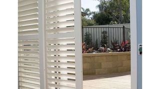 , Perfect for no window treatments and private when needed and great for sunny mornings