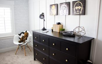 industrial farmhouse boys room makeover