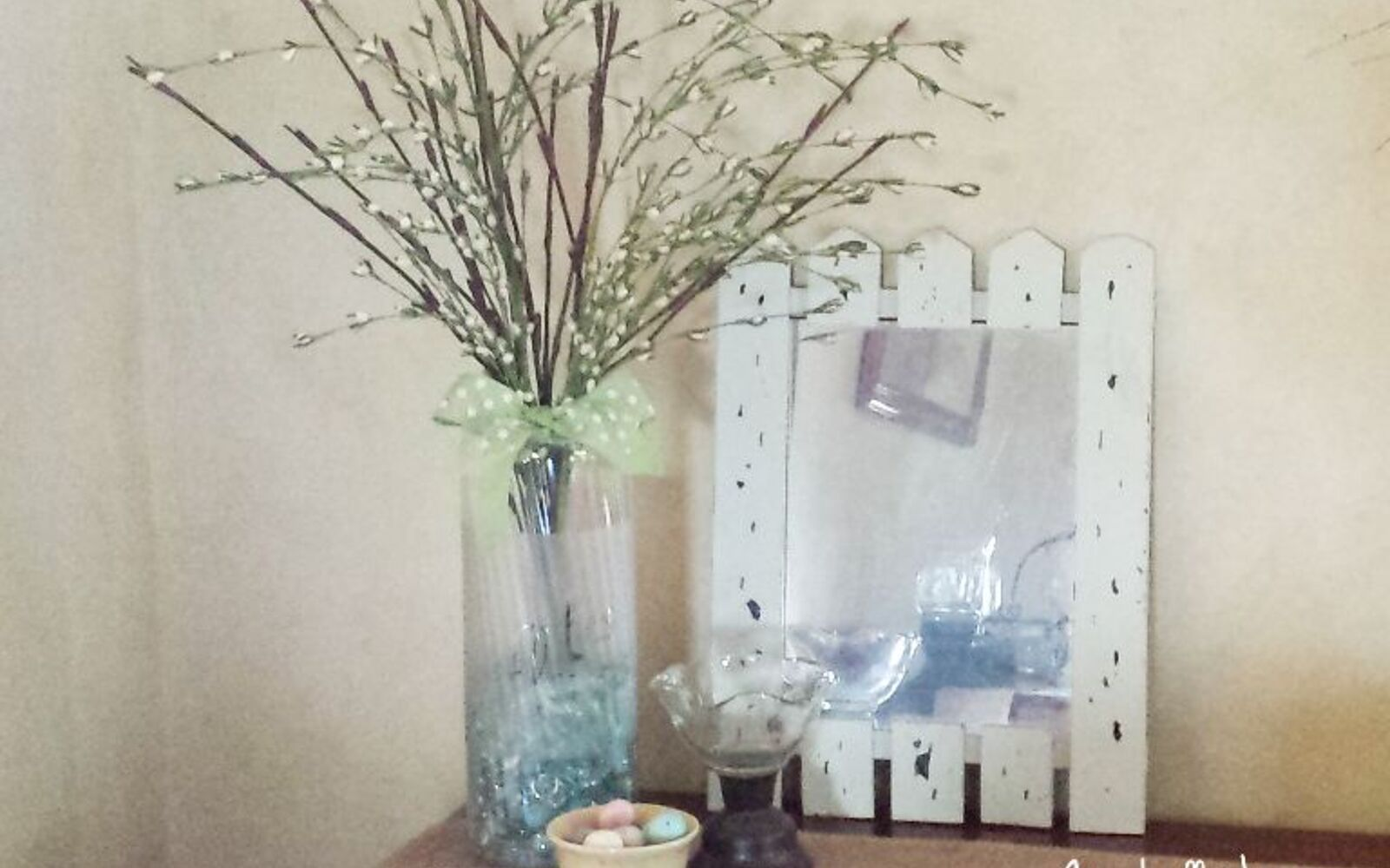 s 15 incredible vases you can make for your bestie on a budget, Frost A Snack Container Into A Cute Vase
