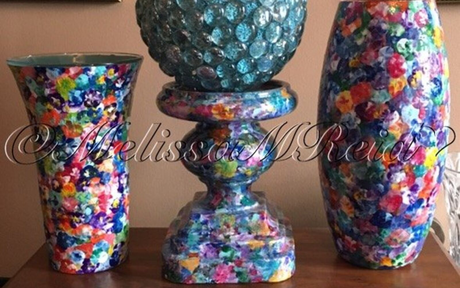 s 15 incredible vases you can make for your bestie on a budget, SPiT Pansies On Your Vase