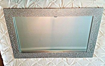 diamond encrusted mirror update