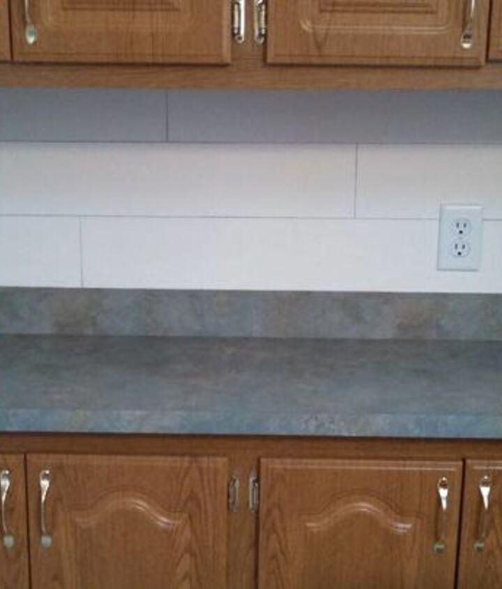 s 15 kitchen updates under 20, Use A Pencil To Create Shiplap