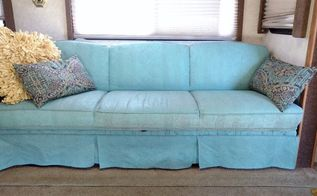 how to paint your couch with chalk paint