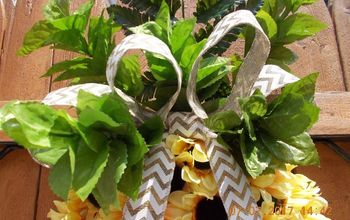 Pineapple Wreath Under $15 With Dollar Tree Products DIY Summer Fun!