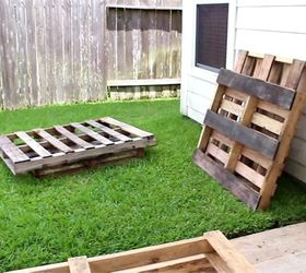 Collect As Many Pallets As You Can. Make Sure They Are Different Styles And  Sizes. You Never Know What Pieces You Will Need From Each.