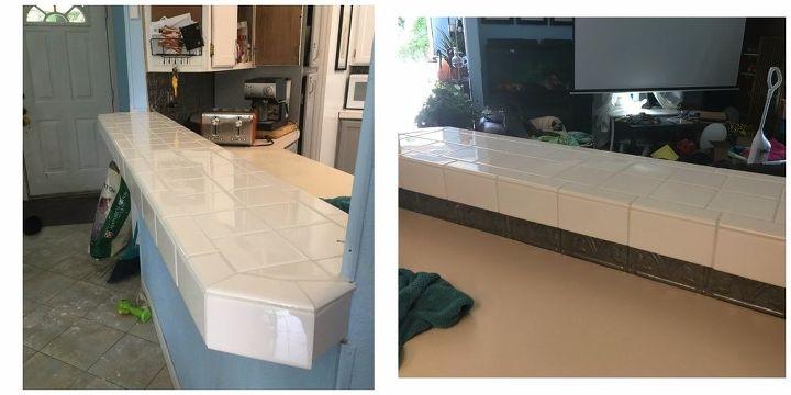 tile over laminate countertops