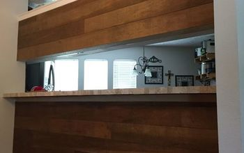 Dining Room Refresh-Wood Plank Wall