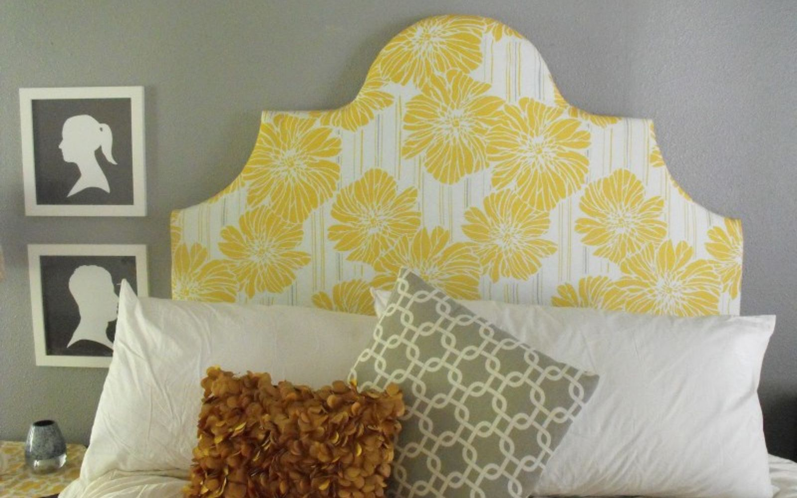 s these are the diy headboard ideas you ve been dreaming of, Get This Sunny Cutout Board