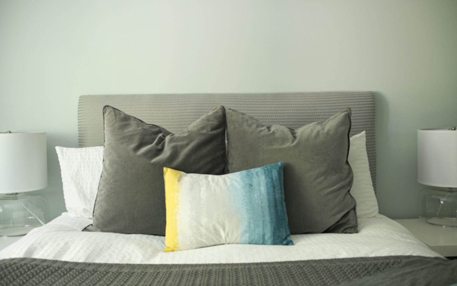s these are the diy headboard ideas you ve been dreaming of, Use Egg Crate Foam For A Cute And Easy Board