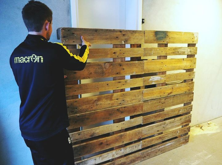 how to make the perfect pallet headboard