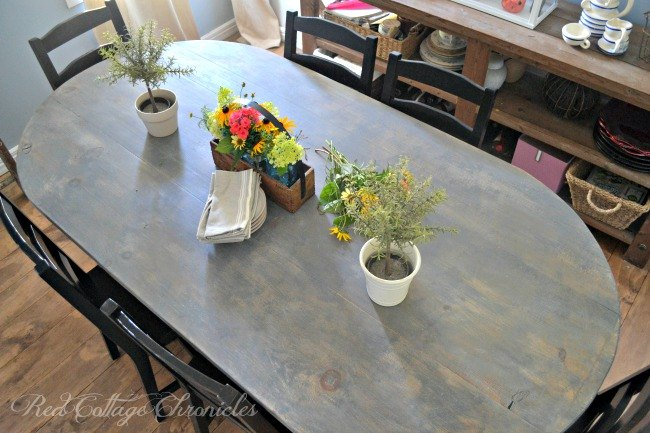 s 15 ways to diy your dream dining room table for half the price, Create A Farmhouse Styled Table