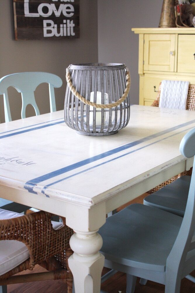 Brand A Grain Sack Tabletop. 15 Ways To DIY Your Dream Dining Room Table  For Half The Price