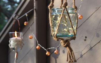DIY Hanging Lantern