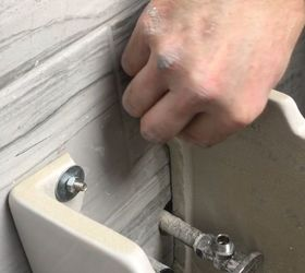 How To Install A Wall Mounted Pedestal Sink In