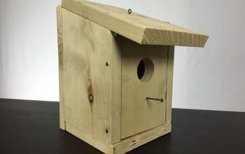 build a birdhouse for under 5 in under 5 minutes