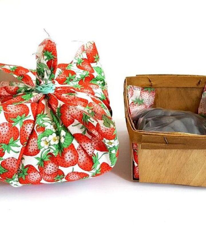 diy summer decor berry basket bookends