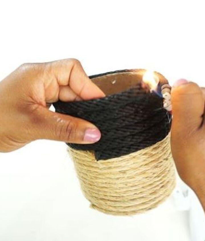 diy simple rope storage solutions