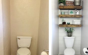 farmhouse style bathroom tour