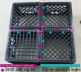 Exceptionnel Shoe Storage Milk Crates