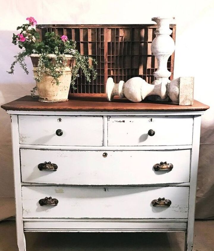 s add a hint of farmhouse style in your home with these ideas, This Dresser Flip