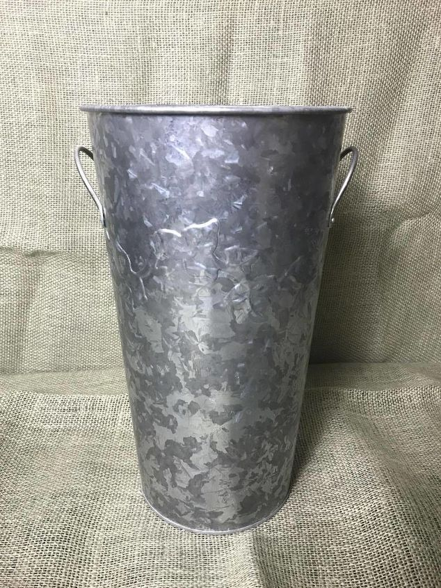 metal bins get a rusty look