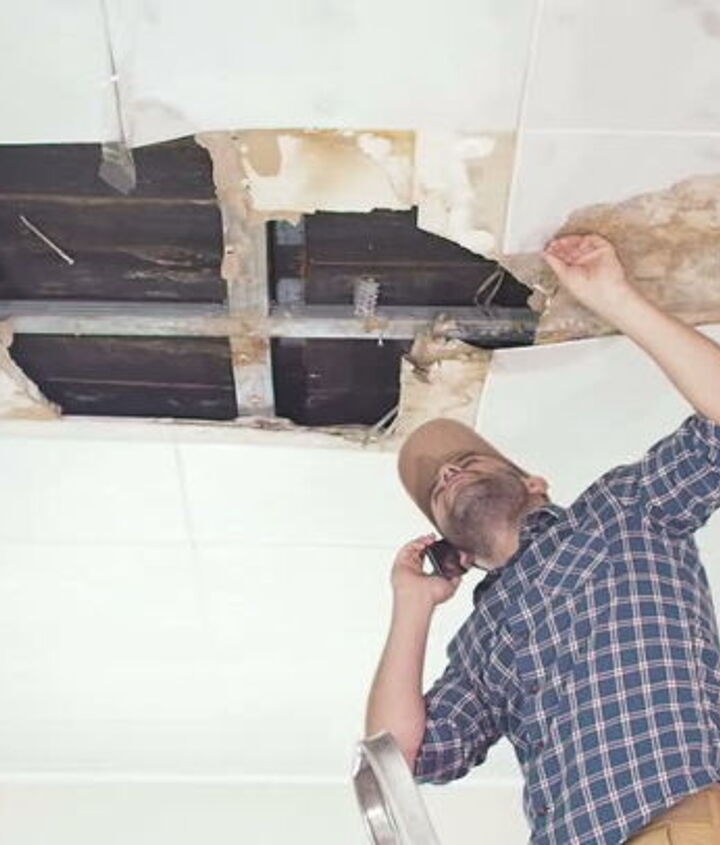 dangers of water seeping into your home