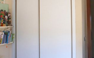 diy how to renovate an ugly wardrobe without paint