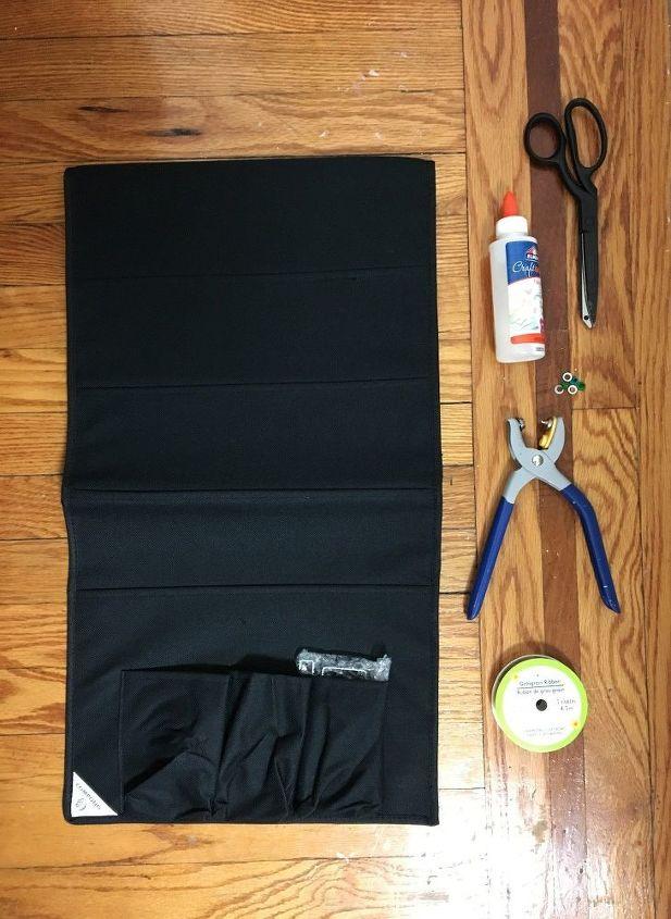 cut a door organizer for clever bedroom storage hack