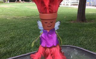 easy garden fairy