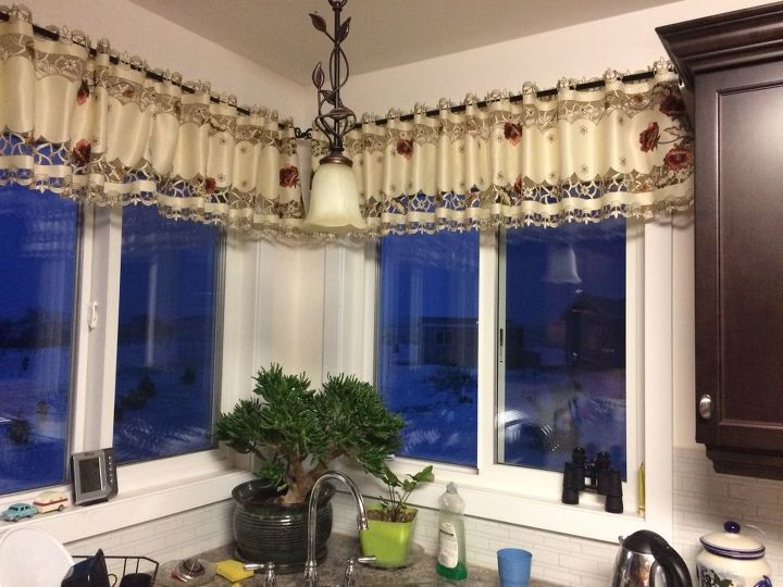 s 15 lovely valances that will make you feel accomplished, Use A Beautiful Table Runner As A Valance