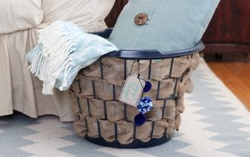 Laundry Basket Upcycle