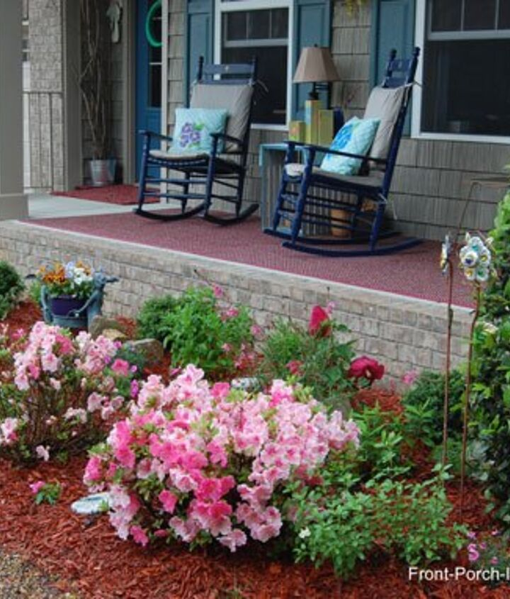 s 15 inexpensive tricks to help you landscape without stressing out, Form A Foundation For Plants
