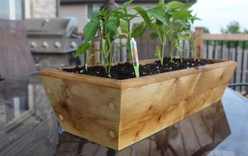 Simple Planter Box For Your Vegetables Or Flowers