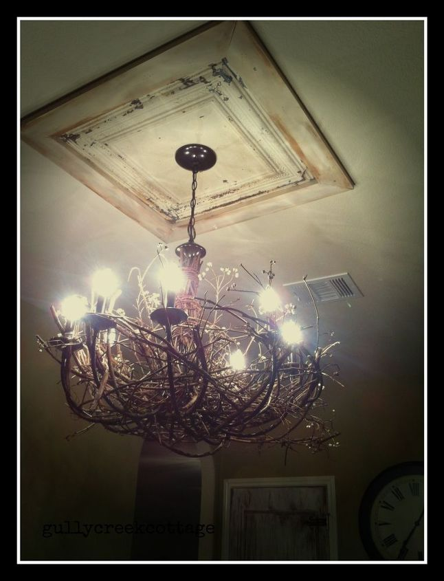 Rustic grapevine chandelier hometalk grapevine rustic chandelier aloadofball Choice Image
