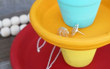 DIY Tiered Jewelry Catch-All