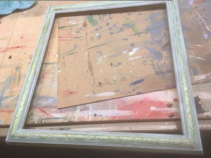 updating an old picture frame