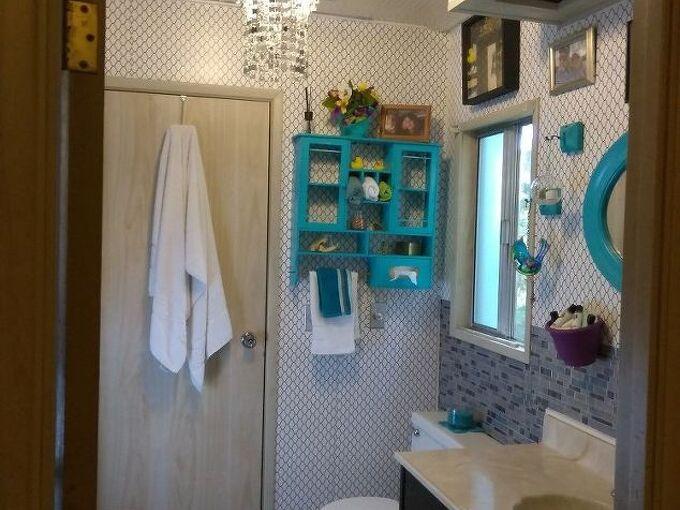 mobile home bathroom makeover