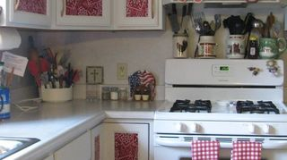 Renter's Cabinet Cover Up - Brighten up Your Kitchen Cabinets | Hometalk